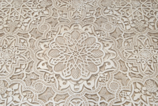 Decorations from Alhambra Copyright by Anny Langer