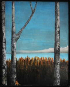 Painting by Torhild Einardotter Floberg