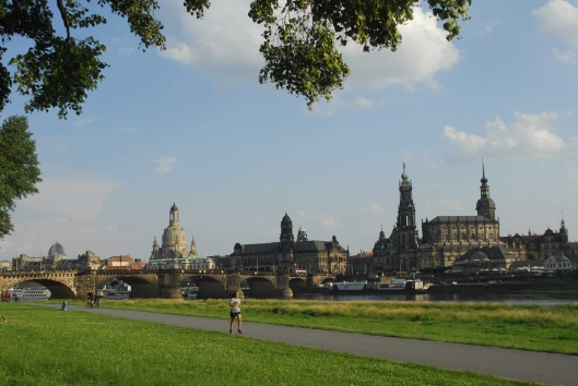 Dresden Skyline Photo by Anny Langer