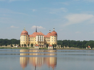 Moritzburg castle Photo by Anny Langer