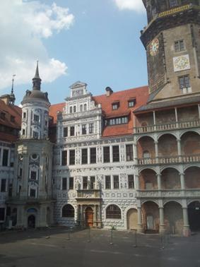 Residenzschloss Dresden Photo by Anny Langer
