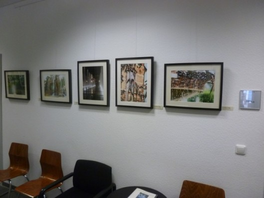 Photos at the Art without borders exhibition, Cologne Photo bt Jürgen Krey