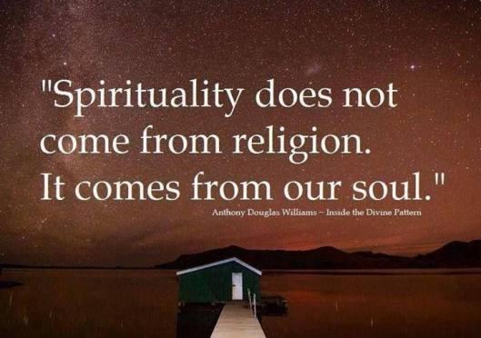 Spirituality AD Williams