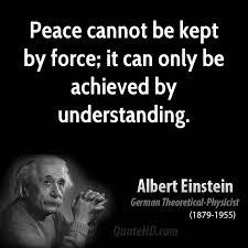 Einstein peace