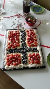 National Days celebration cake today