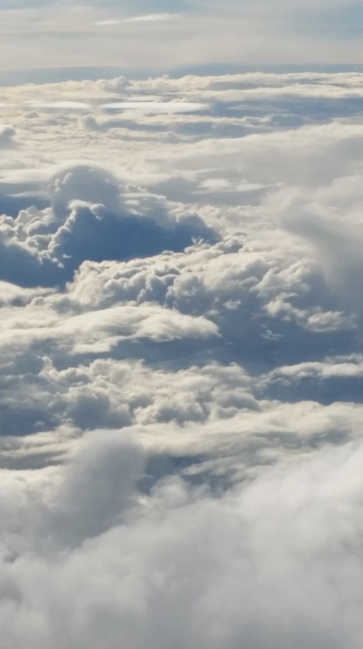 "Copyright by Anny Langer ""Clouds"""